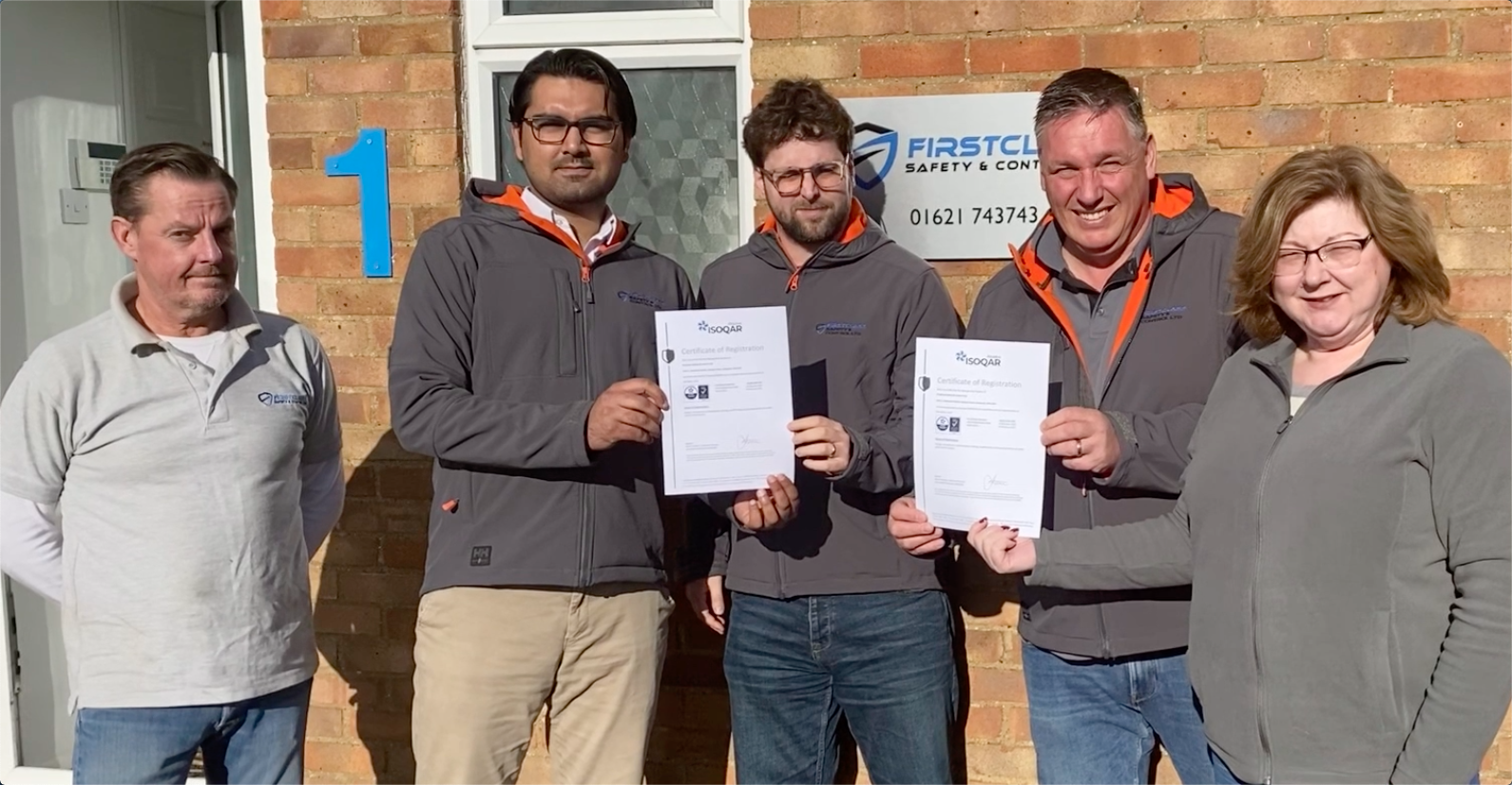 Read more about the article FirstClass Safety achieve Double Accreditation award